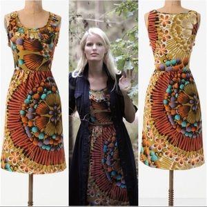 Edme & Esyllte Anthropologie Lappula Silk Dress